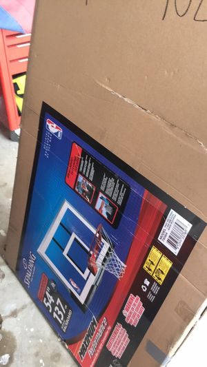 Spalding basketball hoop and backboard set for Sale in Cleburne, TX