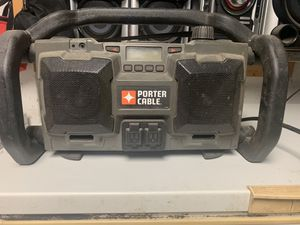 LOUD Porter Cable JobSite Radio for Sale in Snow Hill, NC