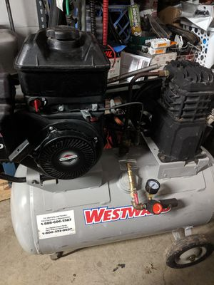 Gas air compressor for Sale in Stockton, CA