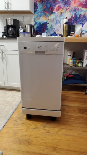 SPT SD-9241W Energy Star Portable Dishwasher, 18 inch for Sale in Seattle, WA