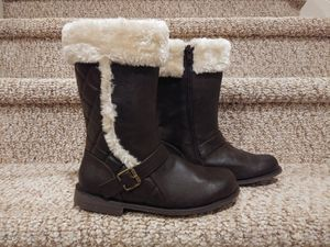 New Girls Size 4 Self Esteem Boots with Zipper and Soft Lining [Retail $45] for Sale in Woodbridge, VA