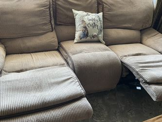 Sofa, And Love Seat With Recliners for Sale in Sayreville,  NJ