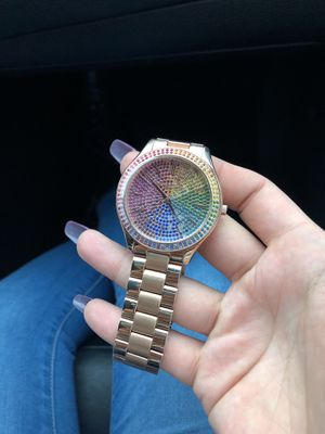 Rainbow authentic Michael Kors watch for Sale in Portland, OR