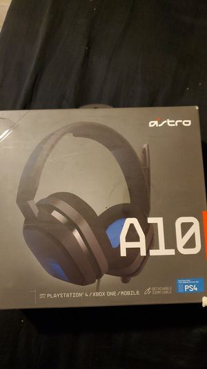 Astro A10 wired gaming headphones for Sale in Miami, FL