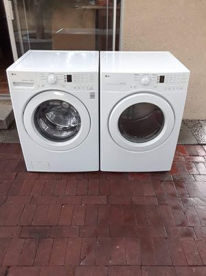 LG WASHER AND GAS DRYER for Sale in Fontana, CA