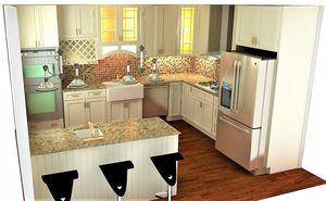 Kitchen and Bathroom, Fashion & European Style Kitchen Cabinets, Granite Quartz 150 Color for Sale in Los Angeles, CA