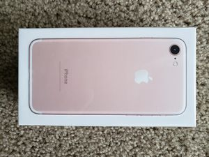 Brand new unlocked iPhone 7 32GB sealed in box for Sale in Kent, WA