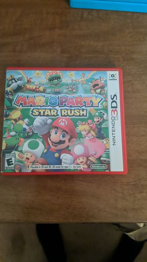 Mario party star rush 3DS for Sale in Hilliard, OH