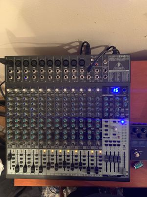 Behringer mixer in great condition $230 obo for Sale in Seattle, WA