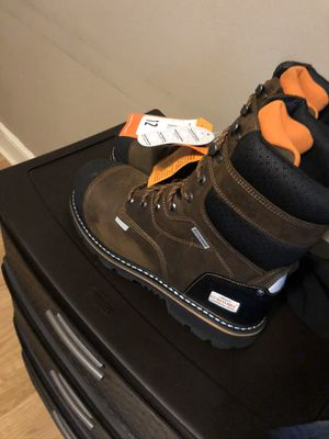Steel toe boots size 12 for Sale in Philadelphia, PA