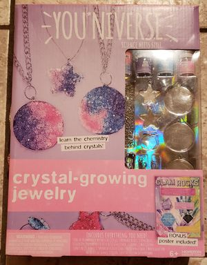 Brand new Crystal Growing Jewelry making set! for Sale in Auburn, WA
