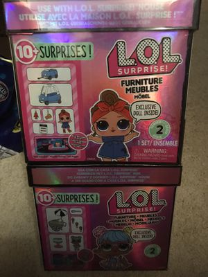 Lol surprise dolls furniture set lot of 2 sets brand new sealed for Sale in Portland, OR