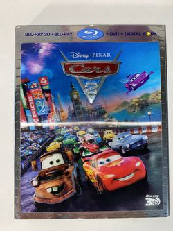 Disney's Cars 2 Blu-Ray, Blu-Ray 3D, DVD for Sale in Naperville,  IL