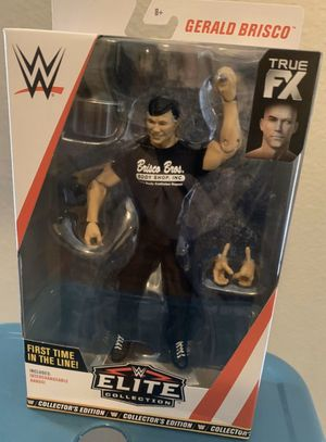 WWE ELITE 70 Gerald Brisco! VHTF WWF action figures for Sale in Euless, TX