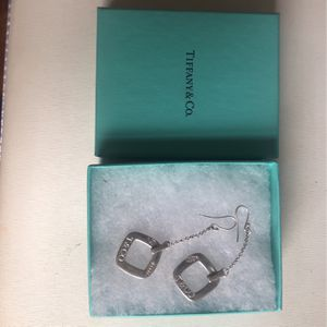 Earrings Used Tiffany& Co Logo for Sale in Freehold, NJ