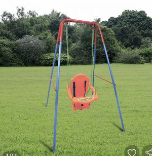 Outdoor Backyard Playground Children Swing Set with Rope for Sale in Hacienda Heights, CA