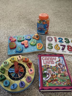 Kids games, puzzles and learning toys for Sale in Cornelius, OR