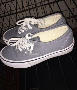 Low top grey vans size 5 for Sale in Brooklyn, NY
