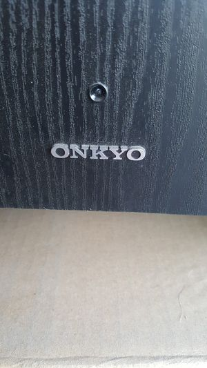 ONKYO surround sound system work good for Sale in Atwater, CA