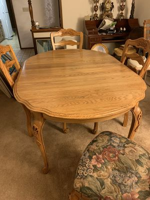 Solid oak kitchen table for Sale in Fresno, CA