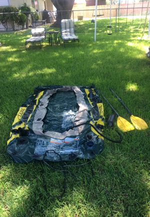 Barco inflable inflateable boat for Sale in Plano, TX
