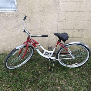 "SCHWINN Legacy Cruiser Bike 26"" RED & PEARL WHITE for Sale in Winter Garden, FL"