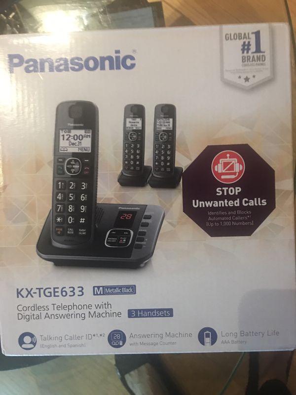 Panasonic/ Brand New in box
