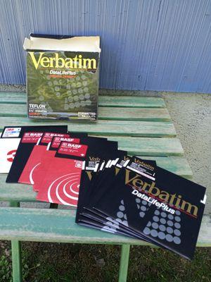 """Vintage 1990 Verbatim 5 1/4"""" diskettes for Sale in Waterbury, CT"""