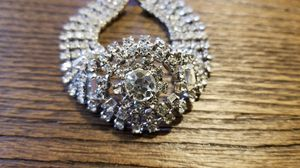 Unbelievable antique crystal rhinestone bracelet for Sale in Ravensdale, WA