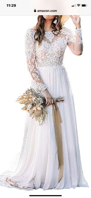 Wedding dress Size 4 for Sale in Gurnee, IL