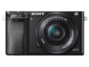 Sony Alpha a6000 Mirrorless Digital Camera 24.3MP SLR Camera with 3.0-Inch LCD (Black) w/16-50mm for Sale in Los Angeles, CA