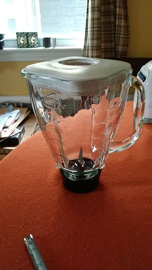 Oster glass blender.. Came from 12 speed Osterizer blender . 5 cup for Sale in Stoughton, MA