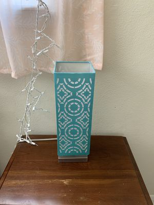 Cute blue lamp for girls room / decor light for Sale in Affton, MO