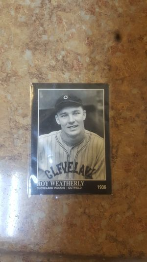 Roy Weatherly baseball card for Sale in Stanton, CA