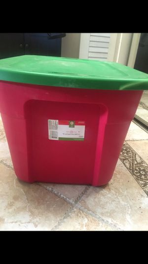 Storage container 18 gal for Sale in Riverside, CA