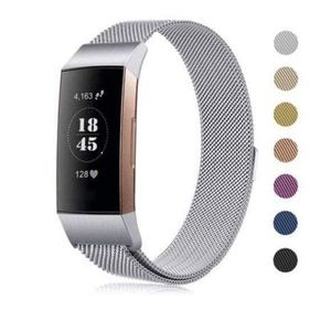 Fitbit charge 2 w stainless steel band & white rubber band for Sale in Charleston, SC