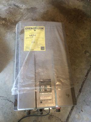 Rinnai mini propane water heater for Sale in Los Gatos, CA