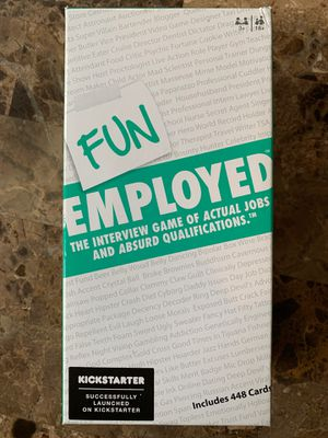 Board Game: Fun Employed for Sale in Vancouver, WA