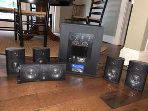 Theater Research 6-piece Speaker/Amp Set for Sale in Dunwoody, GA