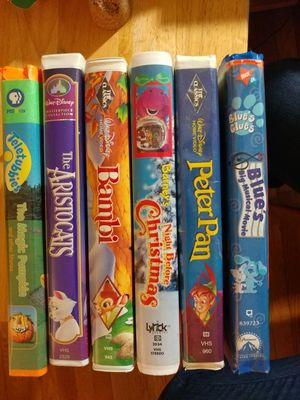 Set of Assorted Classic Children's Collectable VHS for Sale in St. Louis, MO