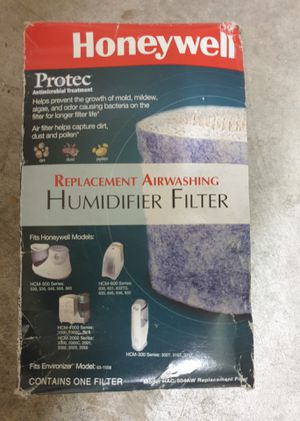 Honeywell humidifier filter for Sale in Bethesda, MD