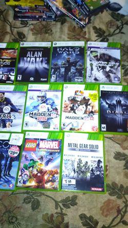 Xbox 360 and Nintendo gamecube games for Sale in Staunton,  VA