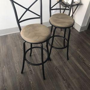 2 Brown Bar Chair for Sale in Atlanta, GA