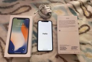 iPhone X 64 GB unlocked for Sale in Nacogdoches, TX