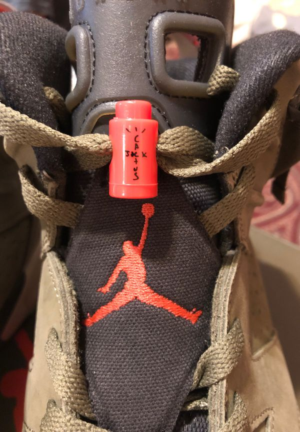 Jordan 6 Travis Scott size 12 brand new 👇🏼👇🏼👇🏼read description