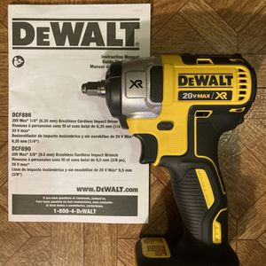 """DeWalt. 20V MAX XR Lithium Ion 3/8"""" Brushless Impact Wrench (Tool Only). DCF890B. for Sale in Brooklyn, NY"""