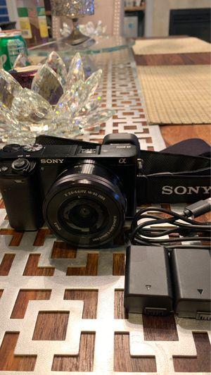 Sony Alpha 6000 for Sale in Las Vegas, NV
