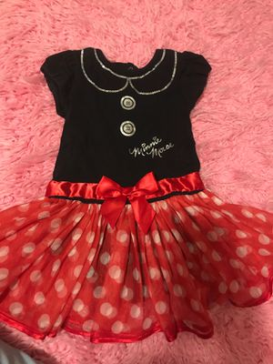 Minnie Mouse dress 24 months for Sale in Fullerton, CA
