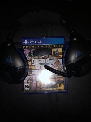 Ps4 Gta5 turtle beach stealth 600 headset for Sale in Alexandria, VA