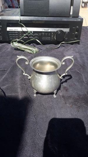Preisner pewter sugar bowl for Sale in Phoenix, AZ